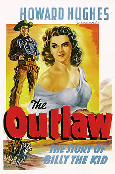 Daniel Hagerman - THE OUTLAW - STORY of BILLY the KID LOBBY PROMOTION  1943