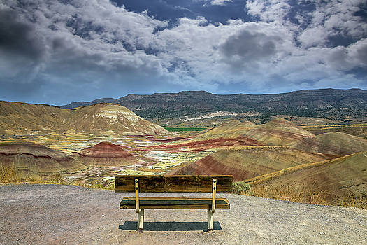 The Overlook at Painted Hills in Oregon by David Gn