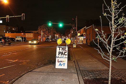THE PAC Sign by Portland Art Creations