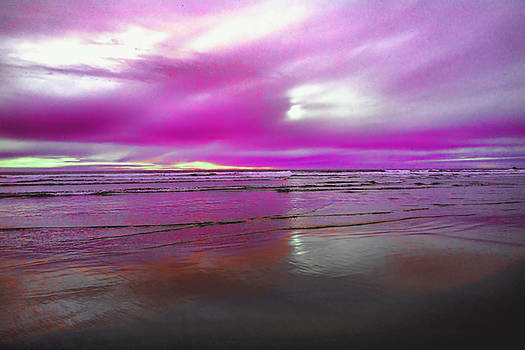 The paint brushed sky by Jeff Swan