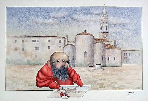 The Painter by Fernando Pereznieto