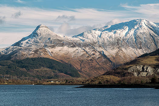 The Pap of Glencoe and Loch Leven by Derek Beattie