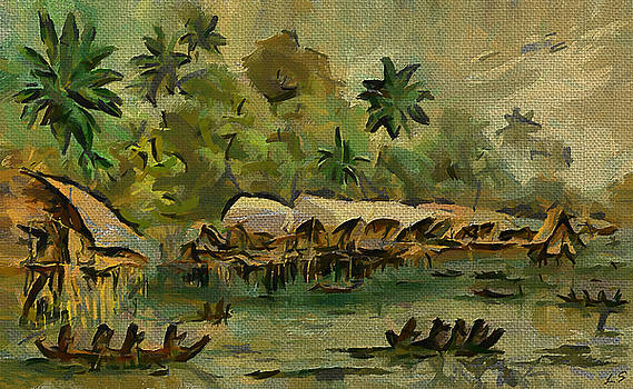 The Papuans Of New Guinea by Sergey Lukashin