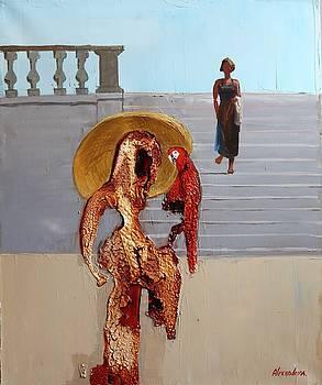 The parrot by Irina Alexandrina