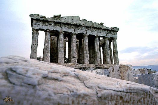 The Parthenon - Athens, Greece by Stephen Fanning