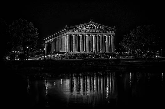 The Parthenon Reflection by Patrick Collins