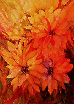 The Passion Of Flowers by Carolyn LeGrand