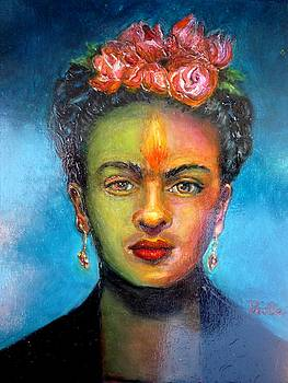 The Passion of Frida Kahlo by June Ponte