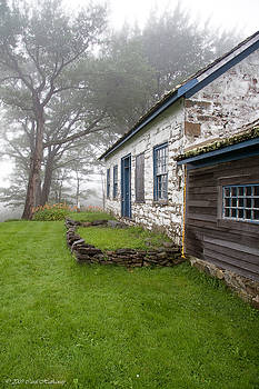 The Pastor's House on a Foggy Afternoon by Carol Hathaway