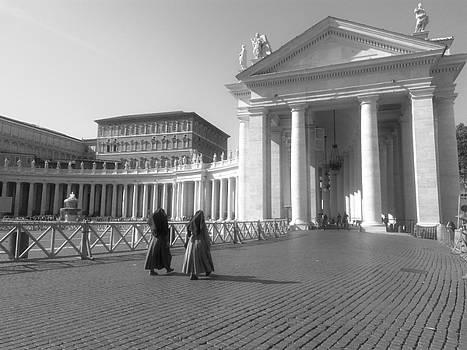 The path to temple by Rumiana Nikolova