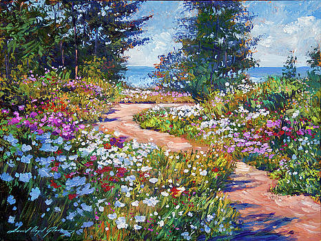 The Pathway To The Sea by David Lloyd Glover