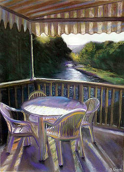 The Patio by George Grace