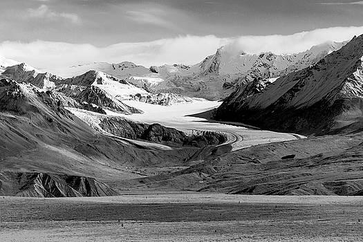The Paxson Glacier by Peter J Sucy