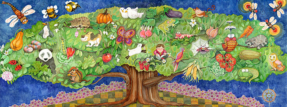 The Peaceful Tree by Rose Gauss