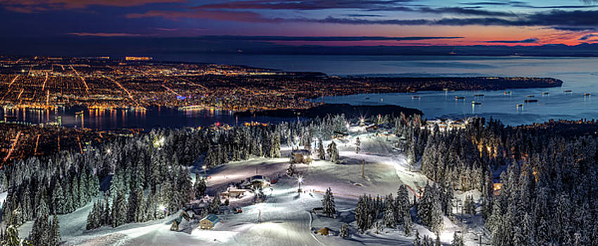 The Peak of Vancouver City by Pierre Leclerc Photography