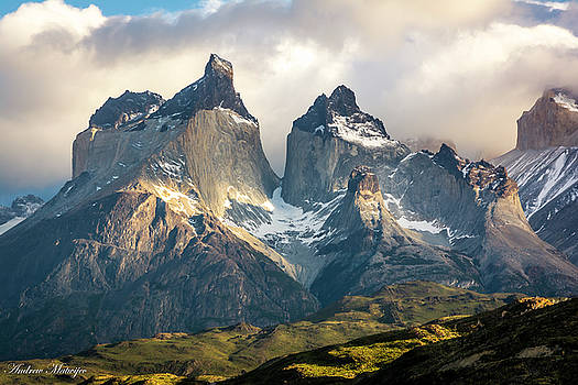 The Peaks at Sunrise by Andrew Matwijec