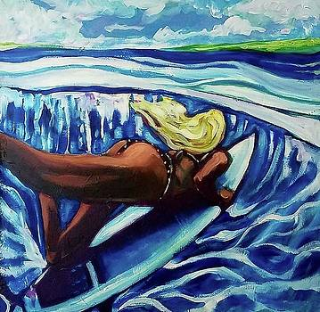 The perfect Wave by Kimberly Dawn Clayton
