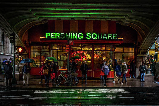 The Pershing Cafe  by Luis Rosario