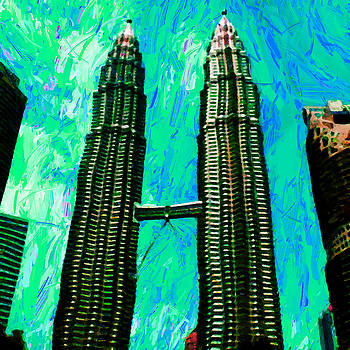 The Petronas Twin Towers  by Stacey Chiew
