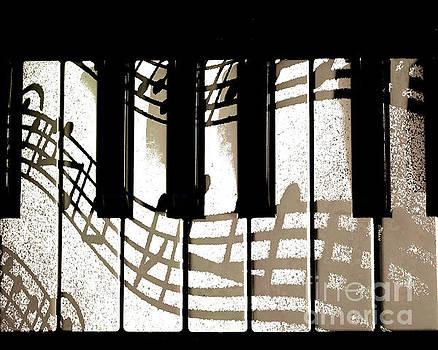 The Piano - Custom order by Sharon K Shubert