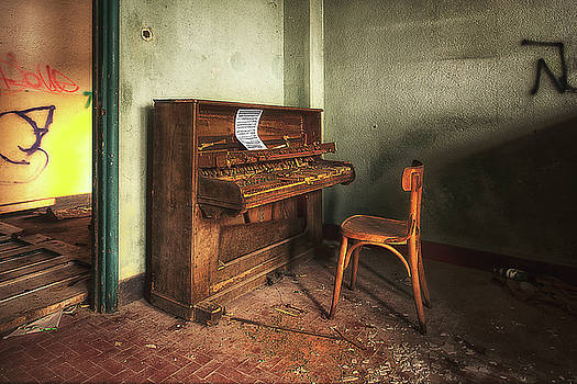 The Piano by Enrico Pelos
