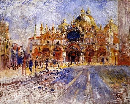 Renoir - The Piazza San Marco