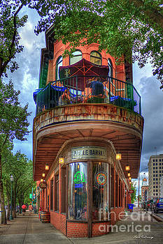 The Pickle Barrel Chattanooga TN Art by Reid Callaway