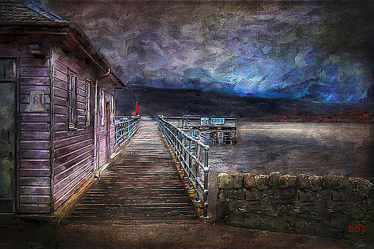 The Pier At Luss by Declan O'Doherty