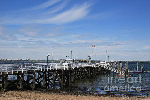 The Pier at Manhasset Bay by Dora Sofia Caputo Photographic Art and Design