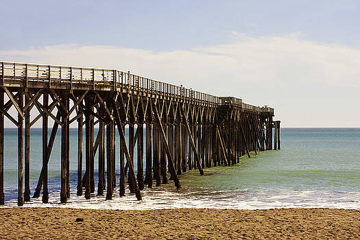 Art Block Collections - The Pier at San Simeon