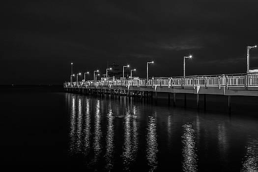The pier in Pomorie by Plamen Petkov