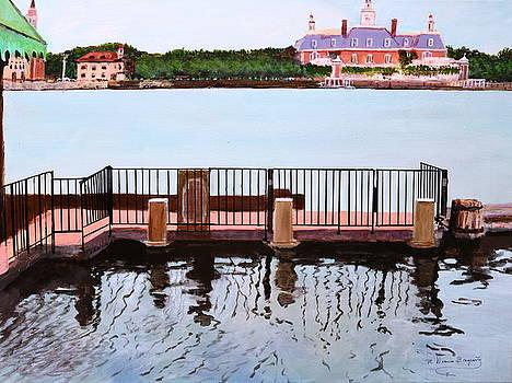 The Pier by M Diane Bonaparte