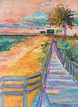 The Pier by Trish Vevera