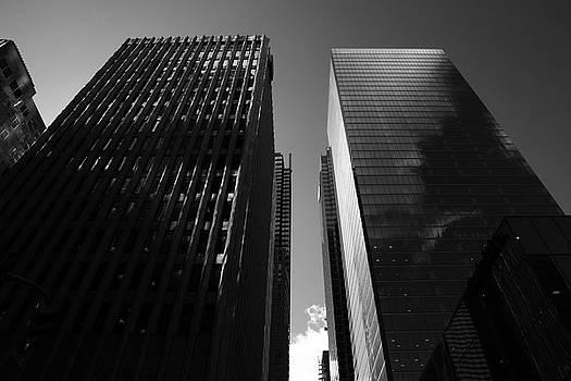 Kreddible Trout - the pillars I - black and white