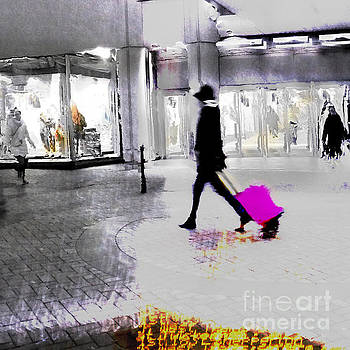 The Pink Bag by LemonArt Photography