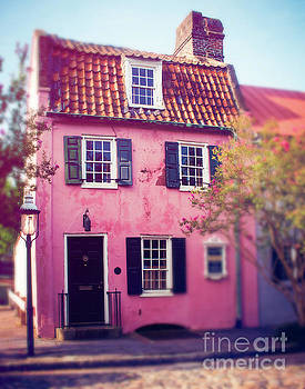 The Pink House Charleston by Sonja Quintero