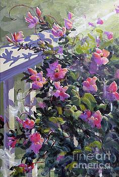 The pink Morning by Valentin Katrandzhiev