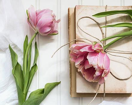 The Pink Tulips by Kim Hojnacki