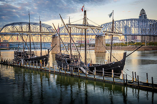 The Pinta and Nina by Keith Allen