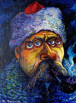 Ari Roussimoff - The Pipe Smoking Cossack