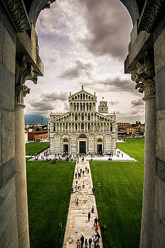 Matt Swinden - The Pisa Cathedral from the Bapistry