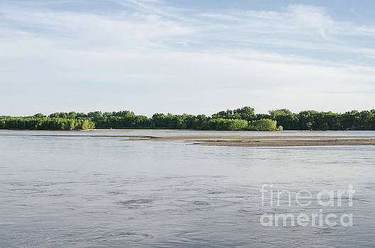 The Platte River in June by Kassie Nelson