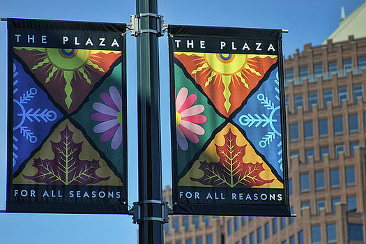 The Plaza by Joan Bertucci