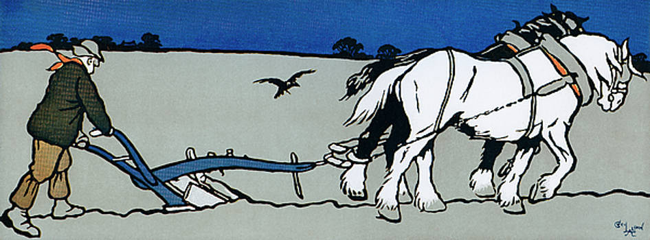 The Ploughman by Cecil Aldin