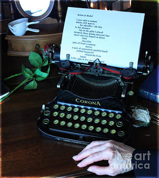 The Poet's Desk  by Steven  Digman