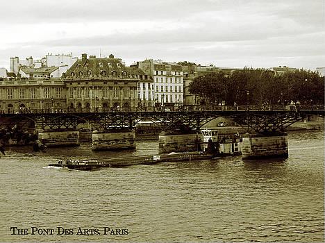 The Pont Des Arts by Zachary Baty