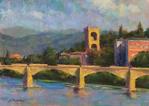 The Ponte Alle Grazie by Michael Gillespie