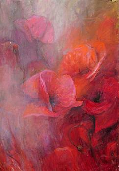 The Poppies by Elisabeth Nussy Denzler von Botha