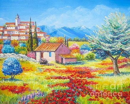 The Poppies field by Elena Yalcin