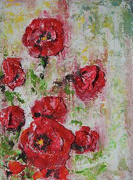The Poppies by Tatiana Ilieva